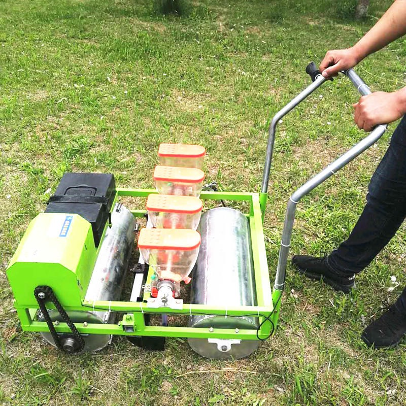 佳思机械-汽油蔬菜播种机 自走式精播机  电动青菜播种机