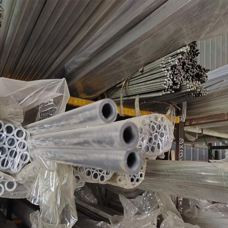 厂价批发6061 6063大口径厚壁铝管工业用铝合金管铝型材量大优惠示例图3