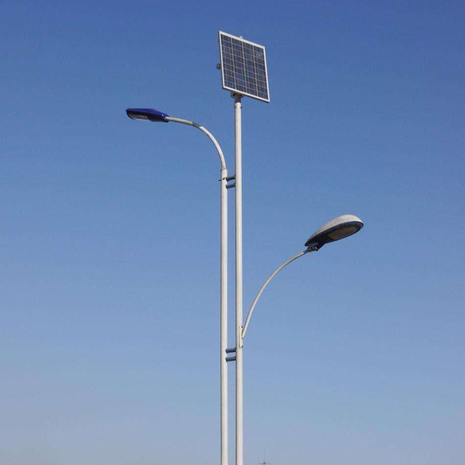 北京太陽能路燈生產廠家、北京5米6米7米8米路燈桿 20W30W40W太陽能led路燈桿 億城
