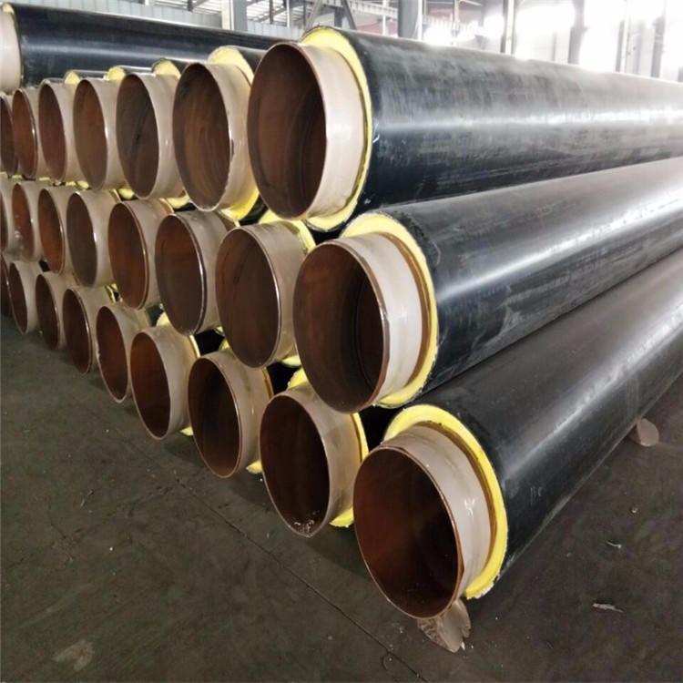 龍都管道生產  供熱保溫管 聚氨酯保溫管 聚氨酯預制直埋保溫管 保溫管廠家