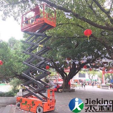 租升降機租賃,廣州天河區自行走剪叉式升降機租賃 專人送機專業培訓