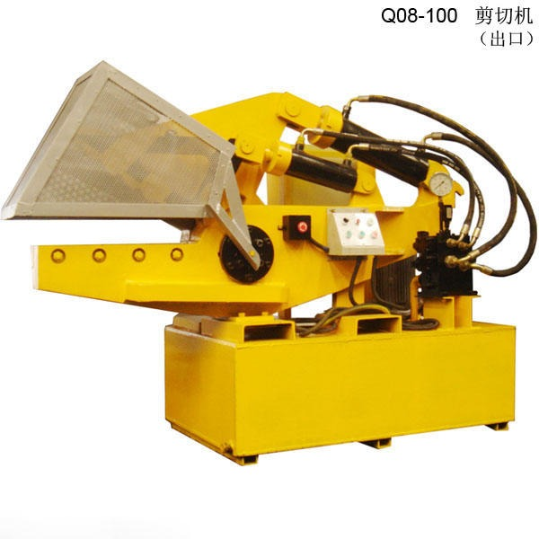 Q08系列一體式鱷魚式剪切機冶金液壓
