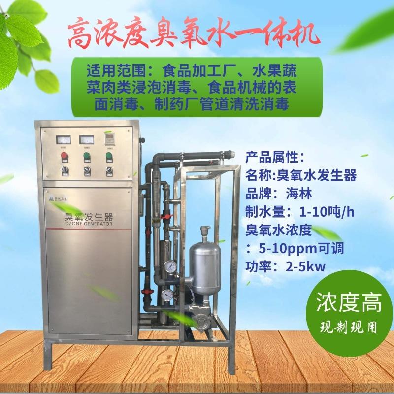 济南海林 臭氧水一体机 高浓度臭氧水生产设备 臭氧水发生器 厂家直销