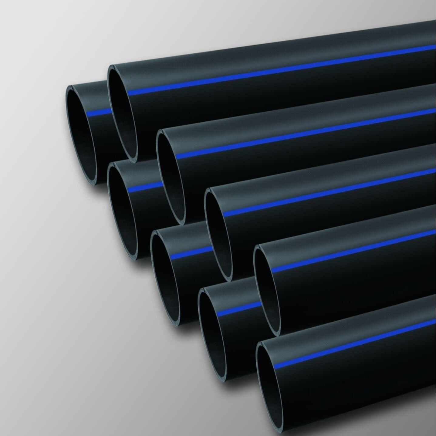 生產廠家銷售PE穿線管 黑色過道頂管 自產自銷 可定做