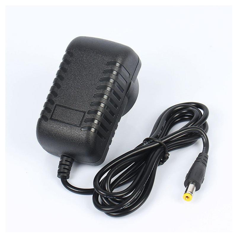 爆款美规6v1a12w电源适配器规格制定 厂家直销黑色直插式开关