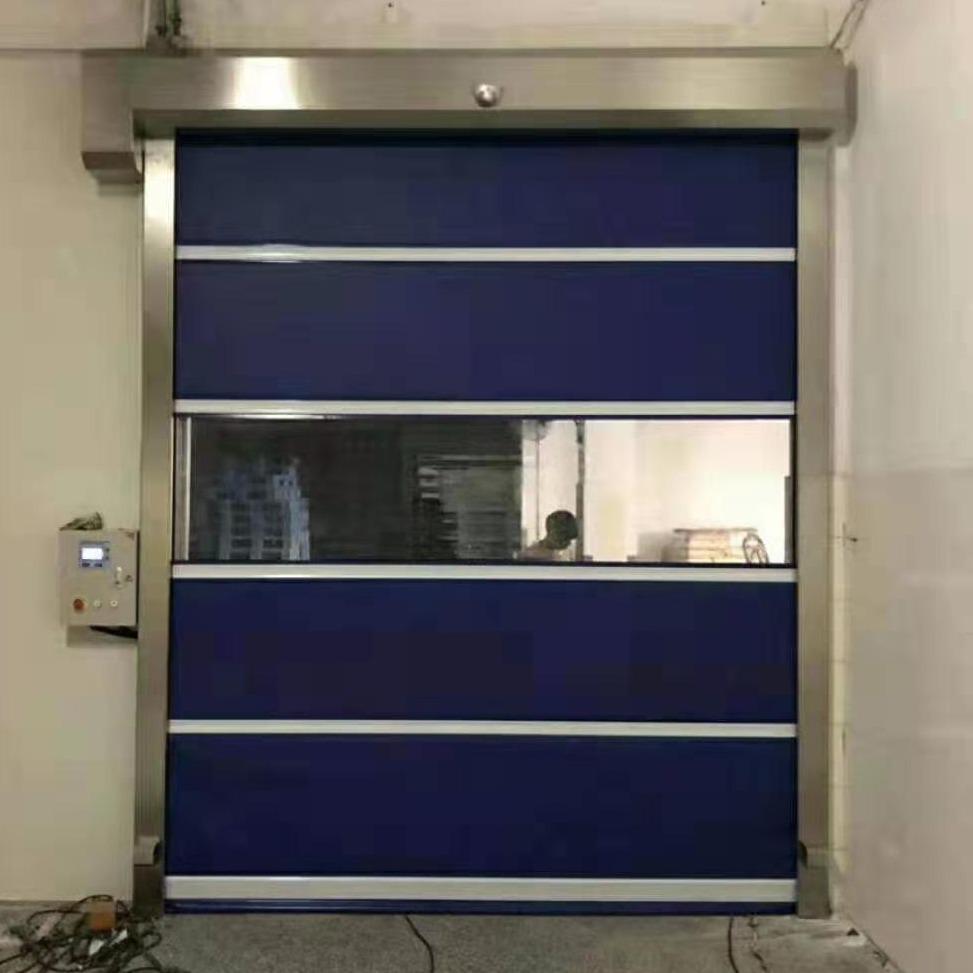 邁徳克供應  柔性抗風門      卷簾門    分段提升門