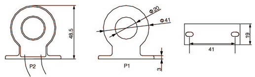 安科瑞,测量型电流互感器,AKH-0.66-60I,额定电流比1000-2500/示例图27