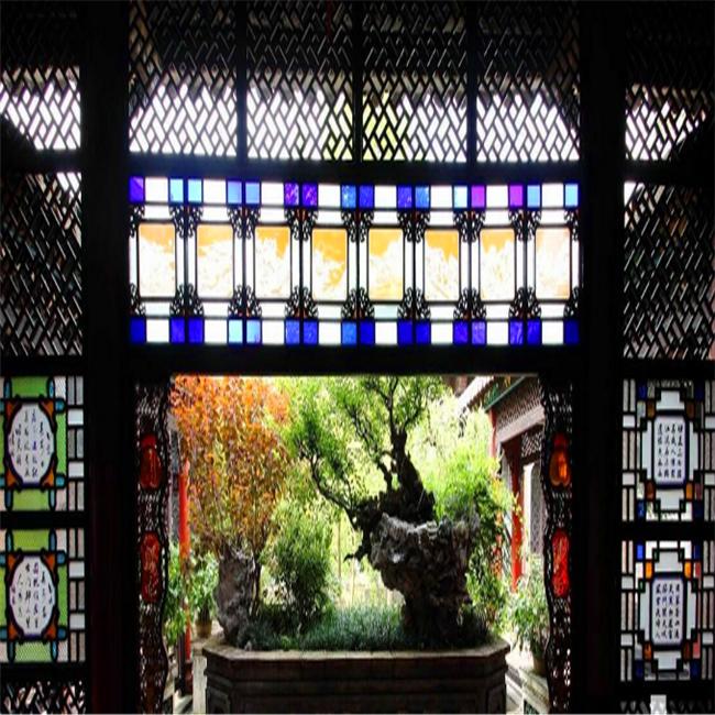 一种近乎失传的花窗复活了,铝合金满洲窗-广东匠铝