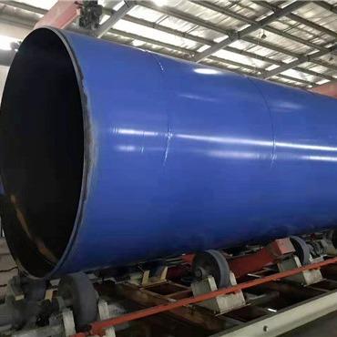 給水用法蘭連接外PE內EP防腐鋼管 給水用法蘭連接外PE內環氧涂塑鋼管 給水用法蘭連接外聚乙烯內環氧涂塑鋼管
