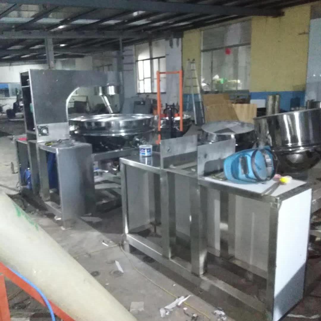 廠家直銷雙駿不銹鋼可傾自動出料油炸鍋鍋      50L-1000L可傾帶攪拌燃氣夾層鍋