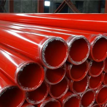 給水用法蘭連接涂塑鋼管 給水用法蘭連接涂塑復合鋼管  給水用法蘭連接鋼塑復合管