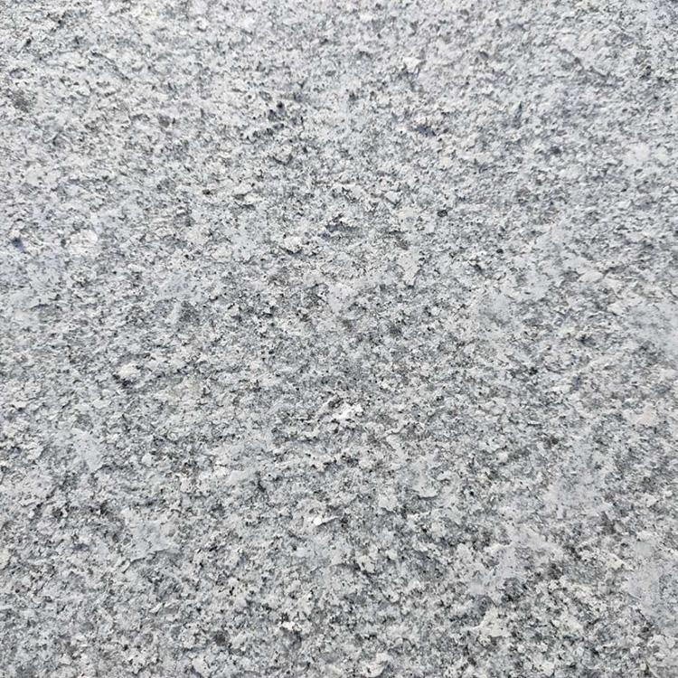 花岗岩芝麻灰产地 家装用芝麻白花岗岩 质量上乘