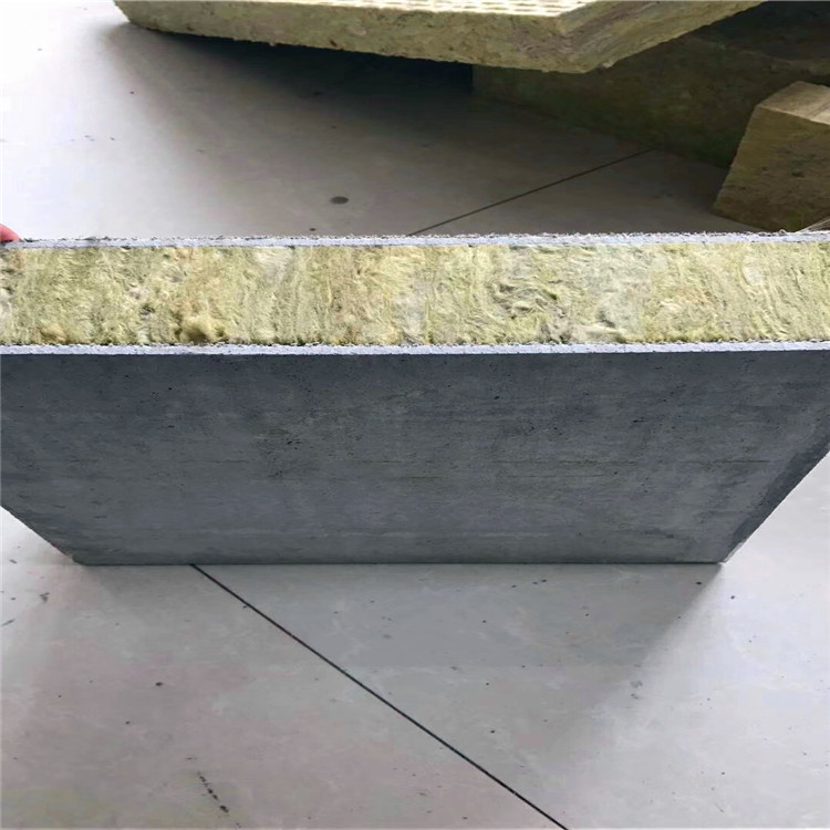 复合外墙岩棉板 外墙保温岩棉板 外墙保温 实体厂家