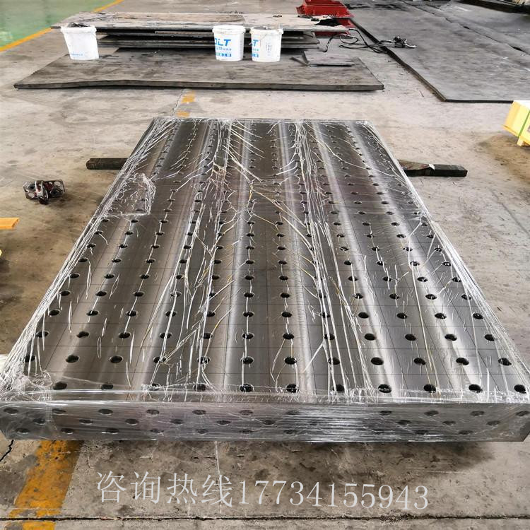 河北泊头厂家直销 铸铁平台 人工刮研铸铁平台 具有设计合理