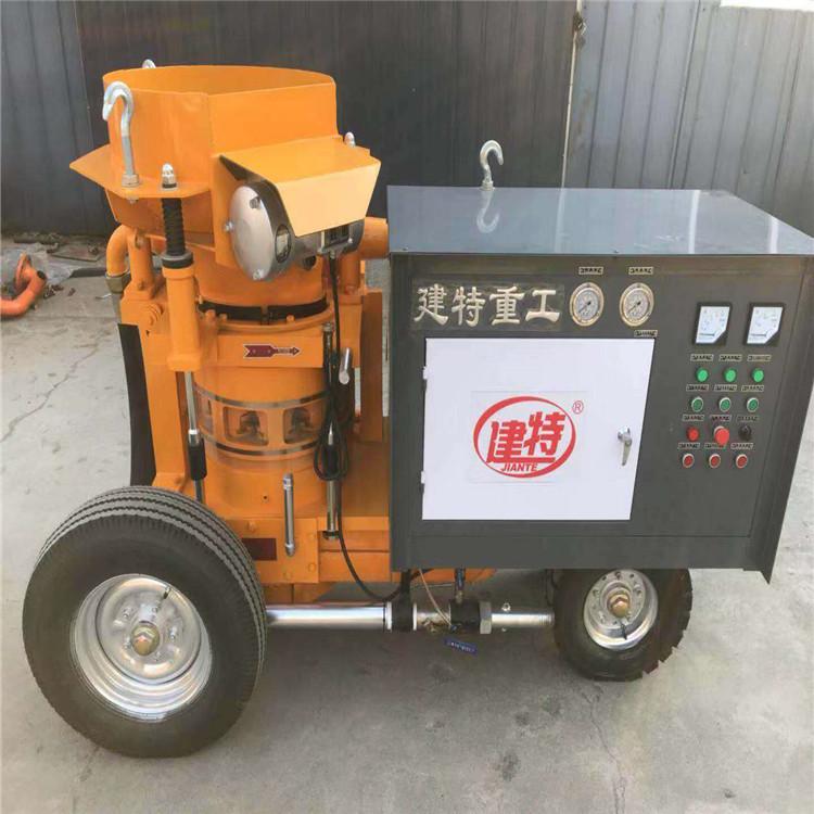 黄山市供应 商混料喷浆机批发 建特重工 16湿喷台车批发