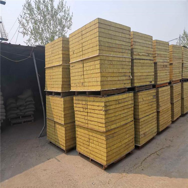 外墙岩棉复合板 外墙保温岩棉板 防火阻燃 生产厂家