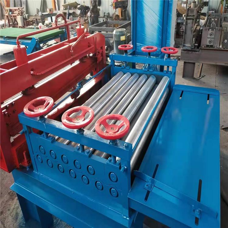 宏霖机械全自动厚板调平机冲床自动感应上料超高性价比