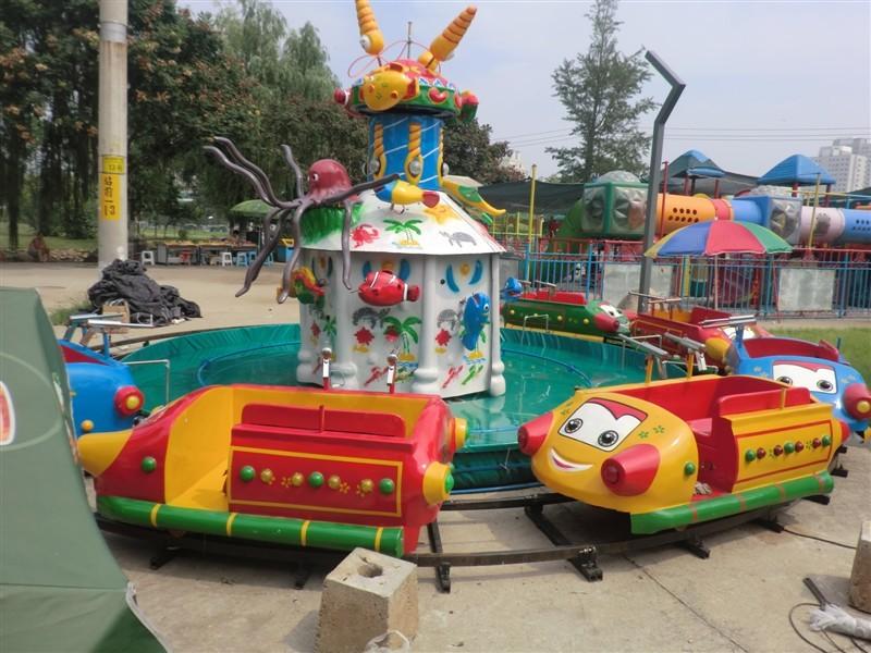 新型欢乐岛儿童游乐设备 郑州大洋专业生产公园欢乐岛厂家示例图3