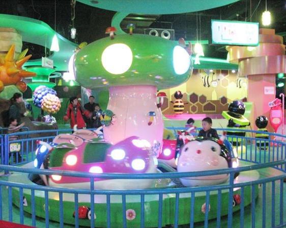 2020新品上市郑州大洋新赚钱游乐设备 摩托竞赛 广场8臂摩托竞赛儿童游艺设施厂家示例图4