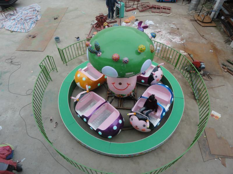 2020新款上市儿童游乐瓢虫乐园 室内豪华瓢虫乐园郑州大洋供应商示例图5