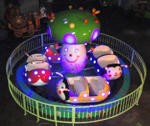 郑州大洋专业定制小型游乐瓢虫乐园 公园游乐设备新款瓢虫乐园示例图4