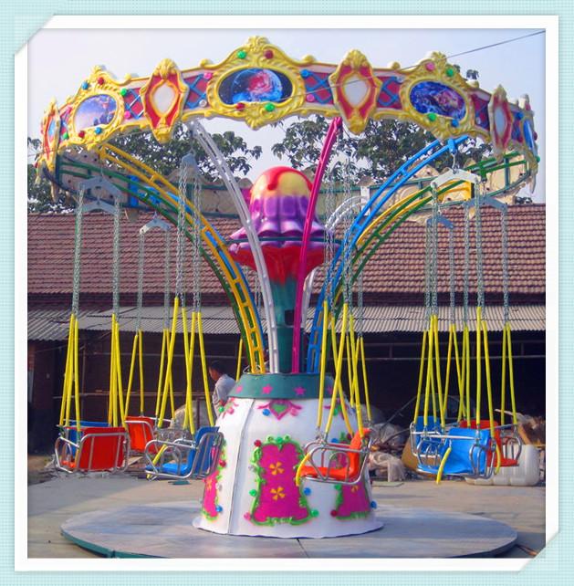 2020公园游乐场游乐设备12座迷你飞椅 广场小型迷你飞椅大洋游乐设施儿童游艺设施厂家示例图10