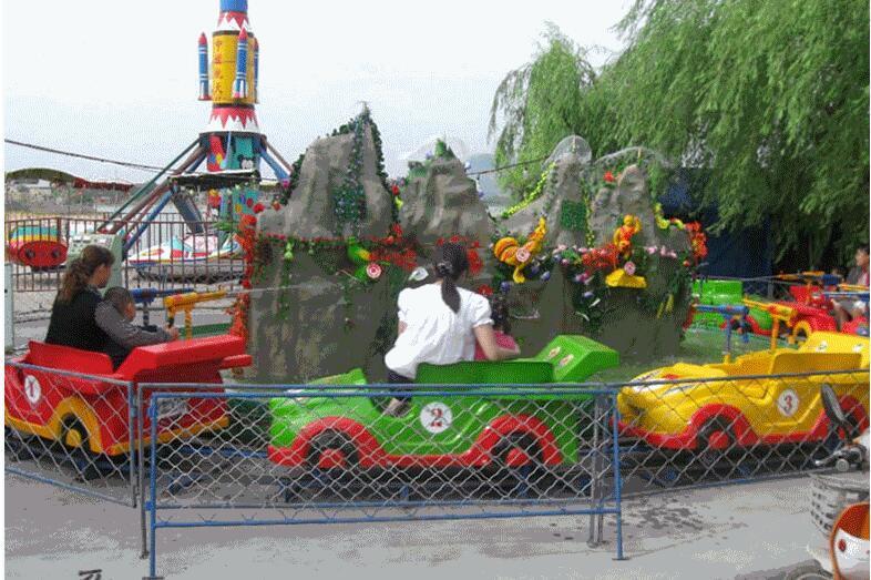 2020厂家直销水陆战车儿童游乐设备 大洋娃娃喜爱广场游乐设施水陆战车示例图11