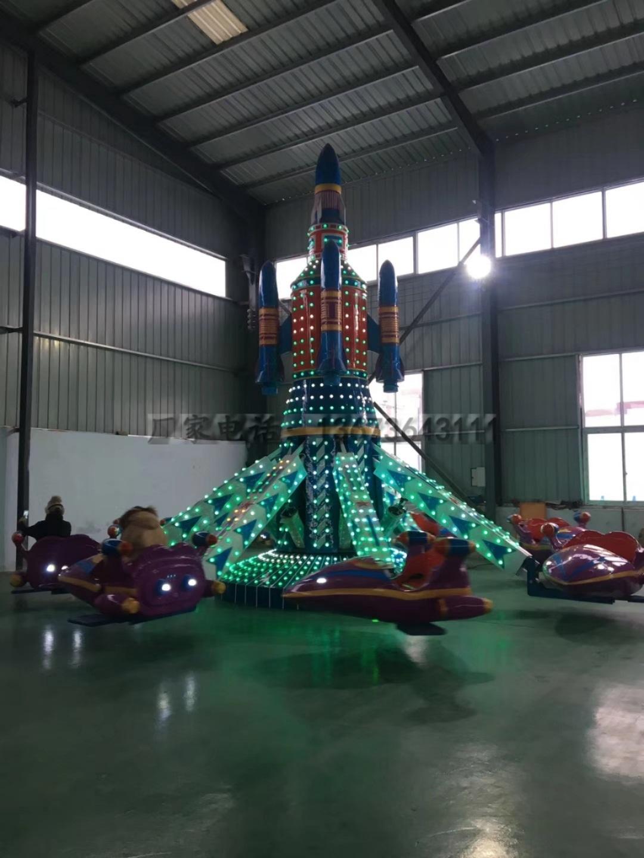 2020  厂家直销8臂旋转自控飞机 大型室内外儿童乐园自控飞机雷竞技设施游艺设施厂家雷竞技App最新版示例图7