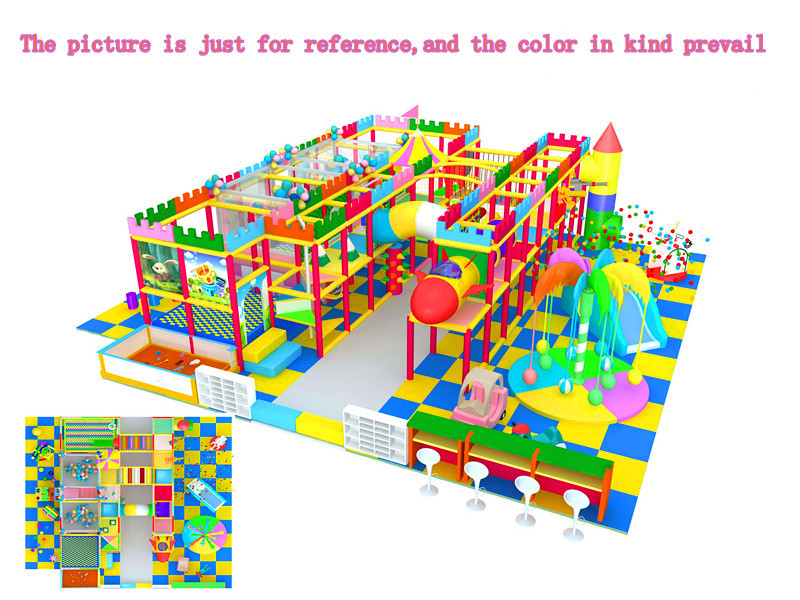 精品推荐室内游乐淘气堡 款式新颖 郑州大洋淘气堡儿童游乐园示例图8