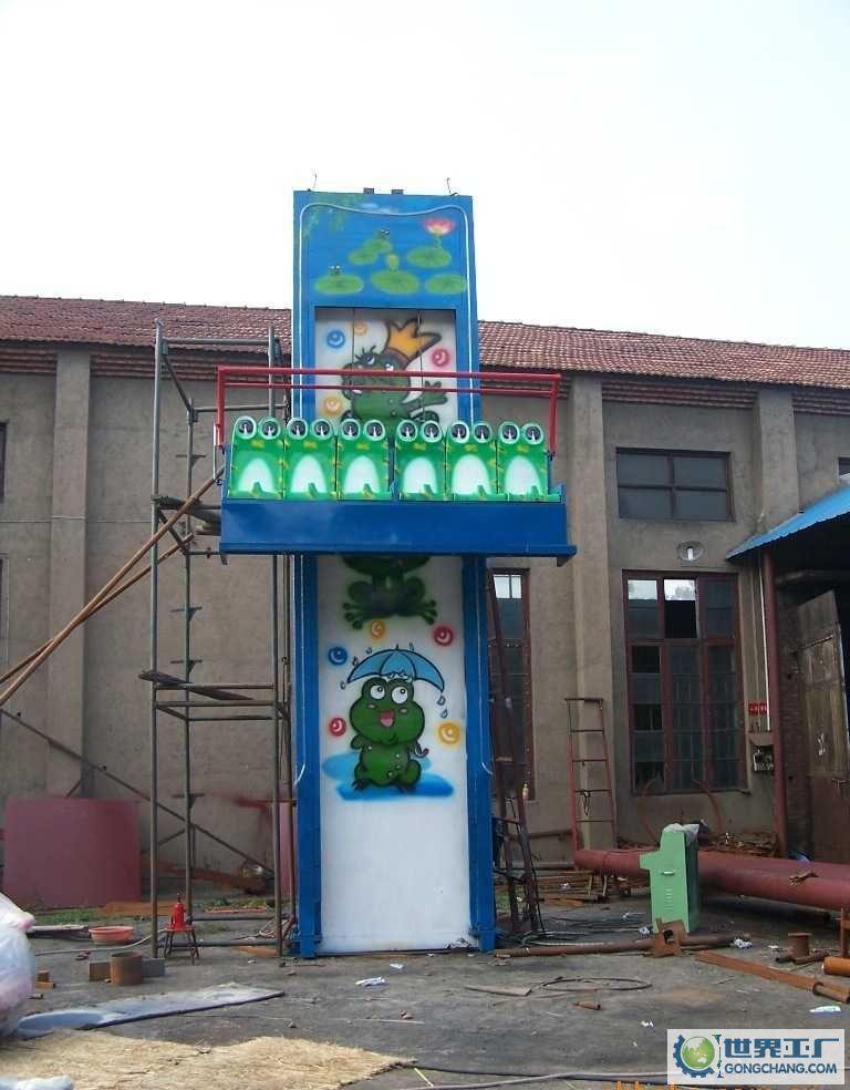 销售火爆公园游乐6座青蛙跳 迎六一十一大洋直销大型弹跳青蛙跳项目示例图3
