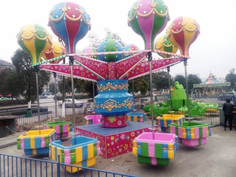 儿童游乐设备桑巴气球 厂家直销 郑州大洋8臂桑巴气球公园游乐示例图2