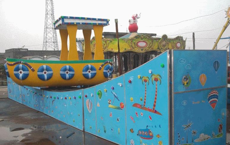 漂流船新型儿童游乐设备 厂家直销16座漂流船小型户外大洋供应游艺设施厂家示例图6
