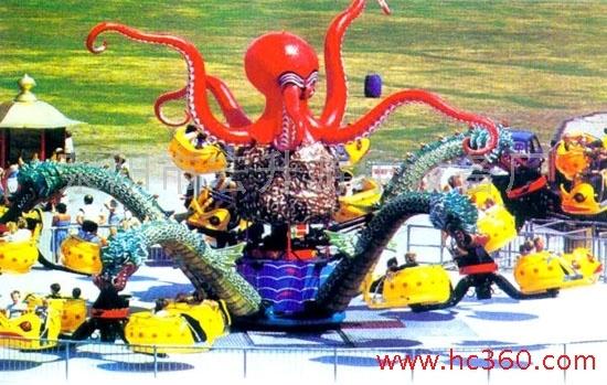 大洋游乐设备5臂旋转大章鱼  厂家直销现货供应30座旋转大章鱼示例图6