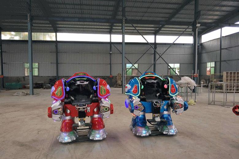 大洋广场小投资项目机器人战火金刚游乐设备 广场行走可乐侠机器人示例图3