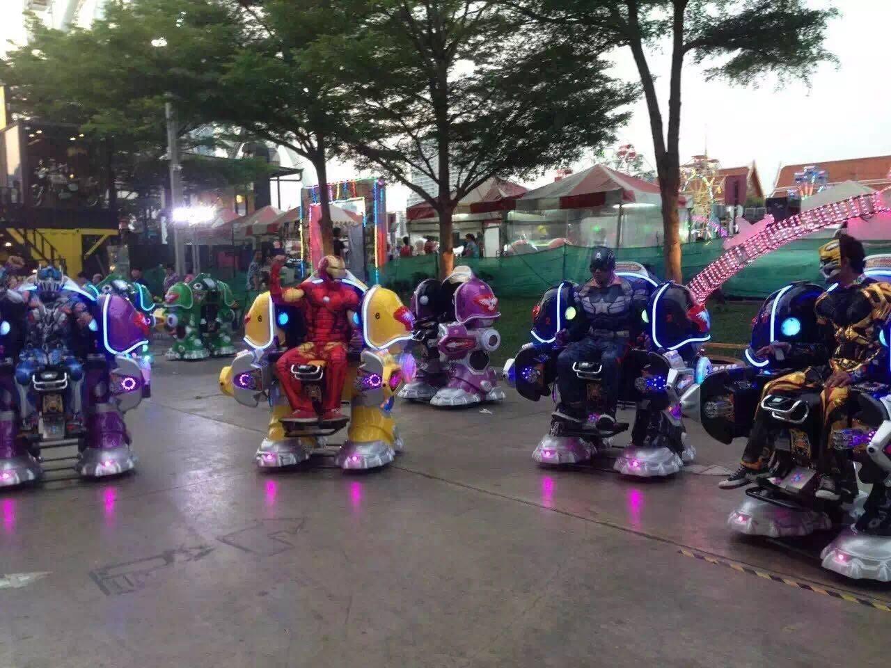 2020大洋游乐重磅推出儿童战火金刚机器人  广场火爆可乐侠机器人示例图12