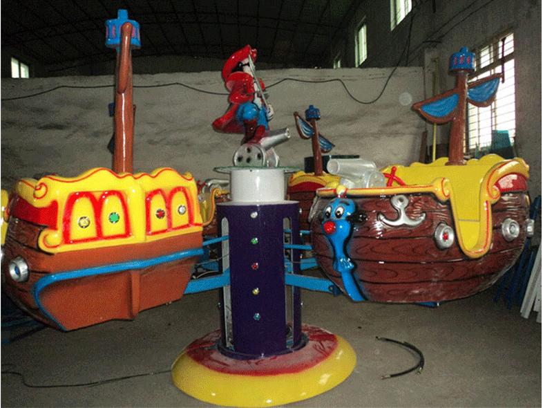 旋转海盗船儿童游乐设备 厂家直销室内豪华旋转海盗船大洋报价示例图4