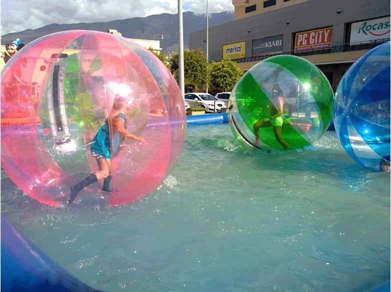 供应水上透明步行球 款式新颖大洋水上步行球儿童游乐设备示例图4