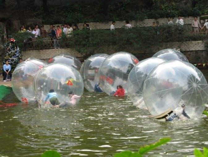 供应水上透明步行球 款式新颖大洋水上步行球儿童游乐设备示例图10