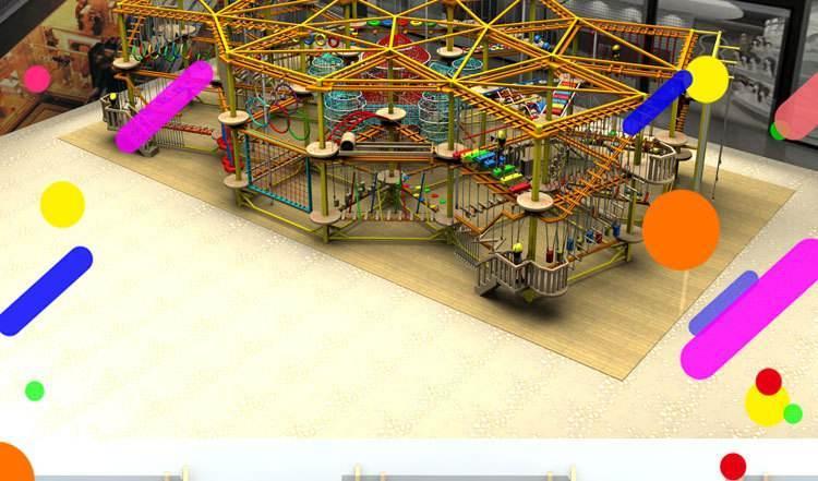 体能乐园儿童游乐设备 大洋大型户外游乐体能乐园训练款式新颖示例图13