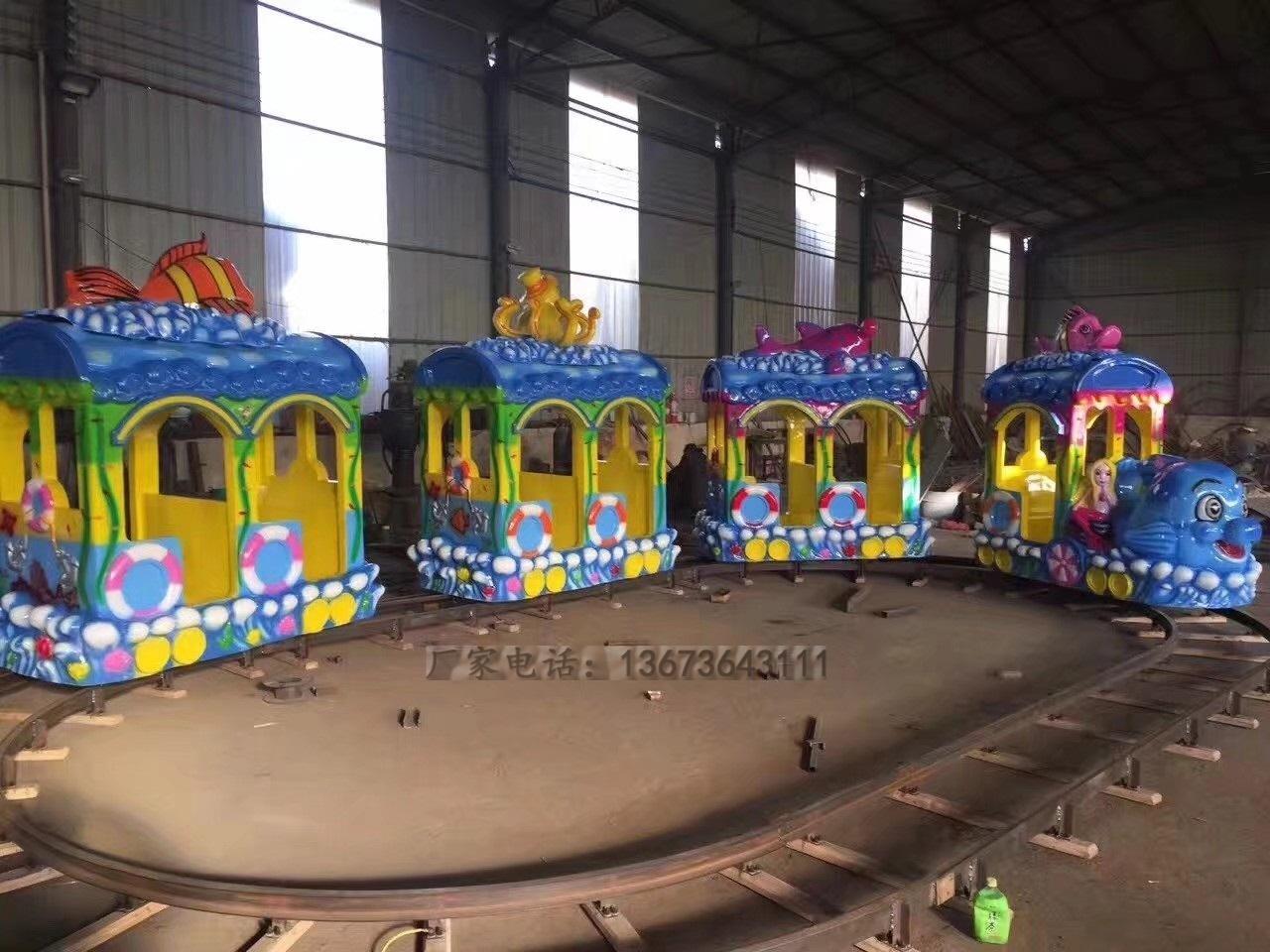 2020郑州大洋现货供应托马斯小火车 阿丽山小火车 卡通轨道小火车项目游乐设备儿童游艺设施厂家示例图16