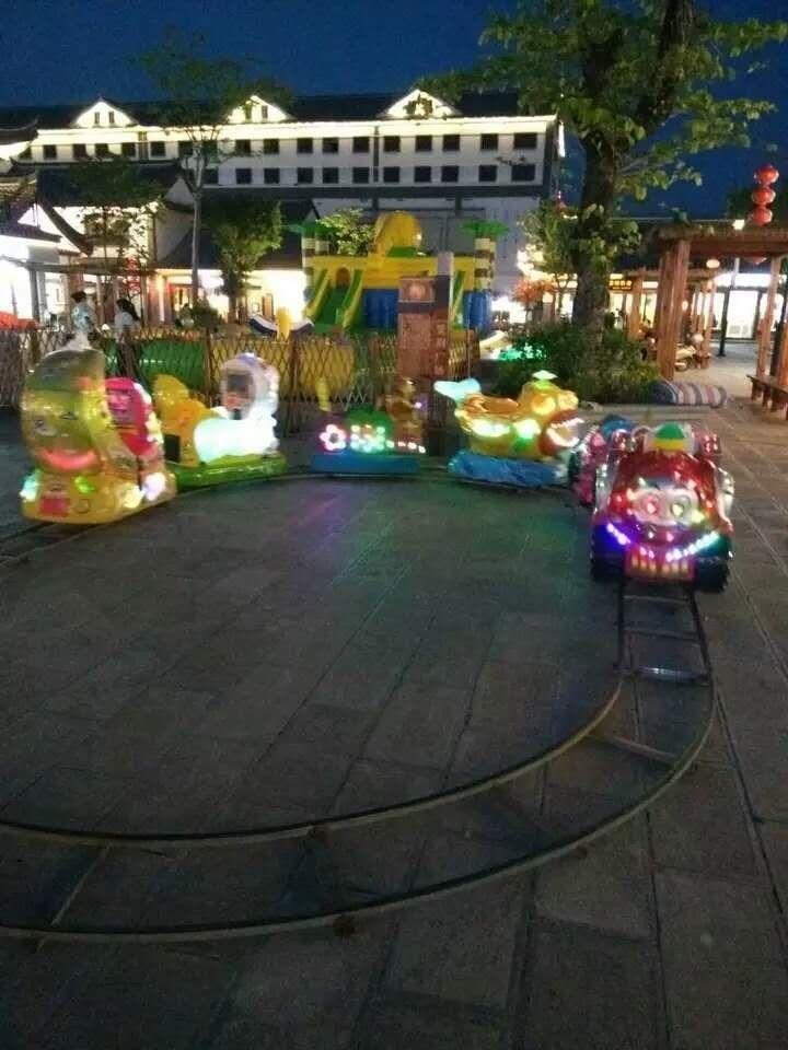 2020郑州大洋现货供应托马斯小火车 阿丽山小火车 卡通轨道小火车项目游乐设备儿童游艺设施厂家示例图18