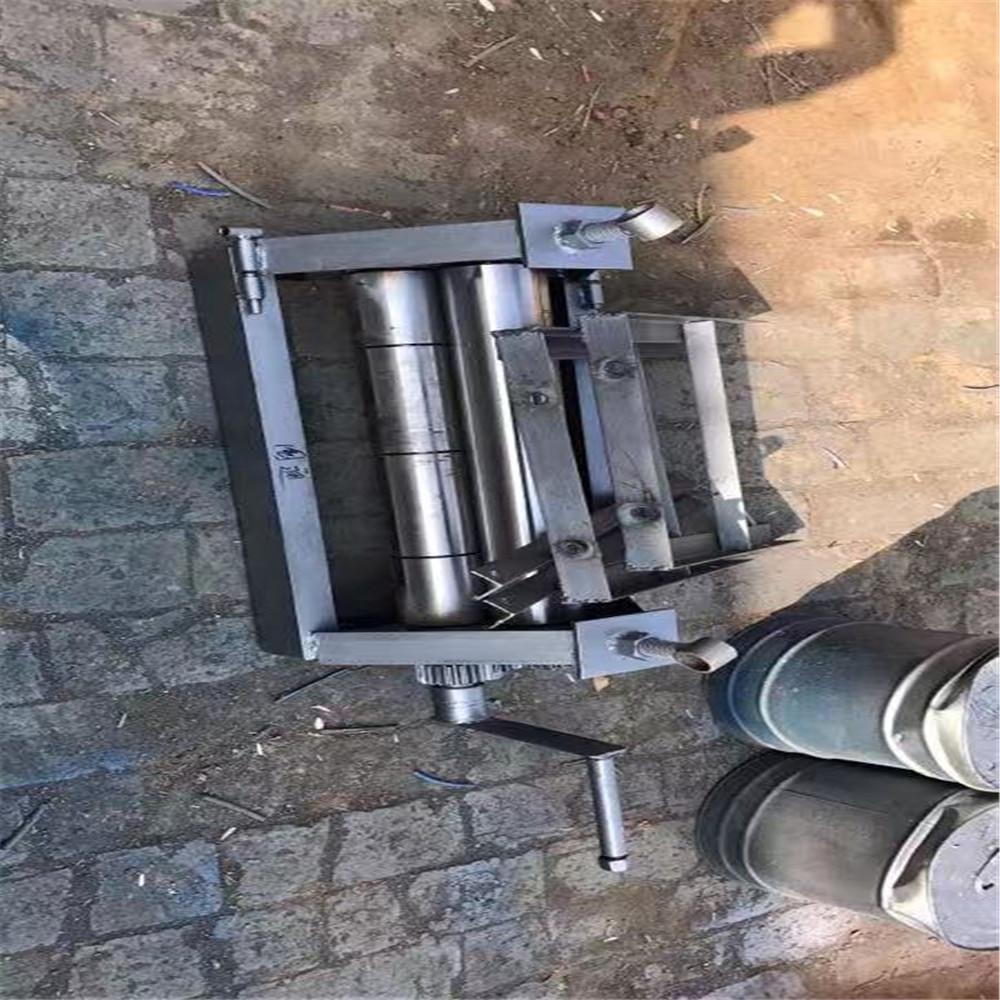 免預彎卷板機手動卷圓機方形管彎管機卷板機廠家