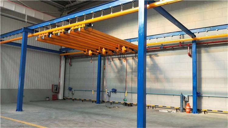 厂家直销FORT牌KBK1吨组合式柔性起重机 1吨KBK起重机 1吨组合式起重机 1吨柔性吊 流水线起重机示例图13
