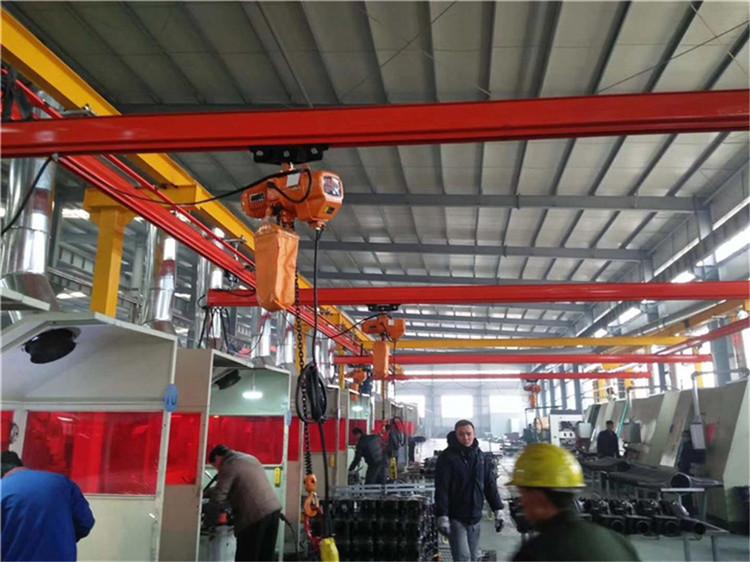 厂家直销FORT牌KBK1吨组合式柔性起重机 1吨KBK起重机 1吨组合式起重机 1吨柔性吊 流水线起重机示例图11