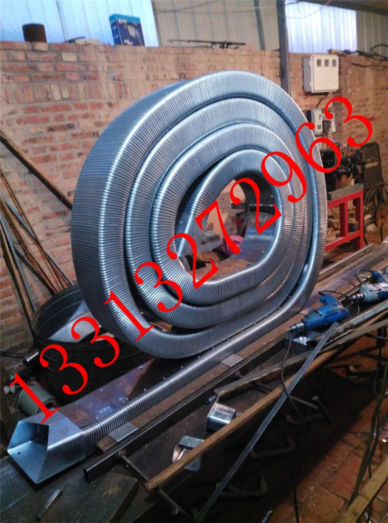 35.60JR-2矩形金属软管 线缆保护金属软管 金属矩形管 穿线矩形管 穿线拖链纯金属原材料制成示例图9