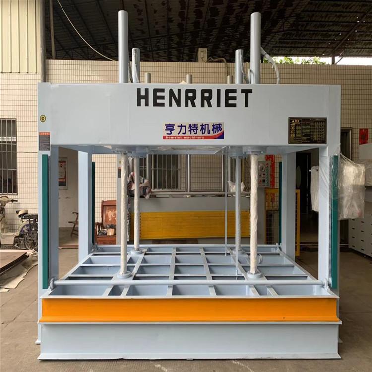 今日特價亨力特機械160噸,空調板,冷庫板,車廂板,整體衛浴發泡板,聚氨脂發泡板熱壓機示例圖22