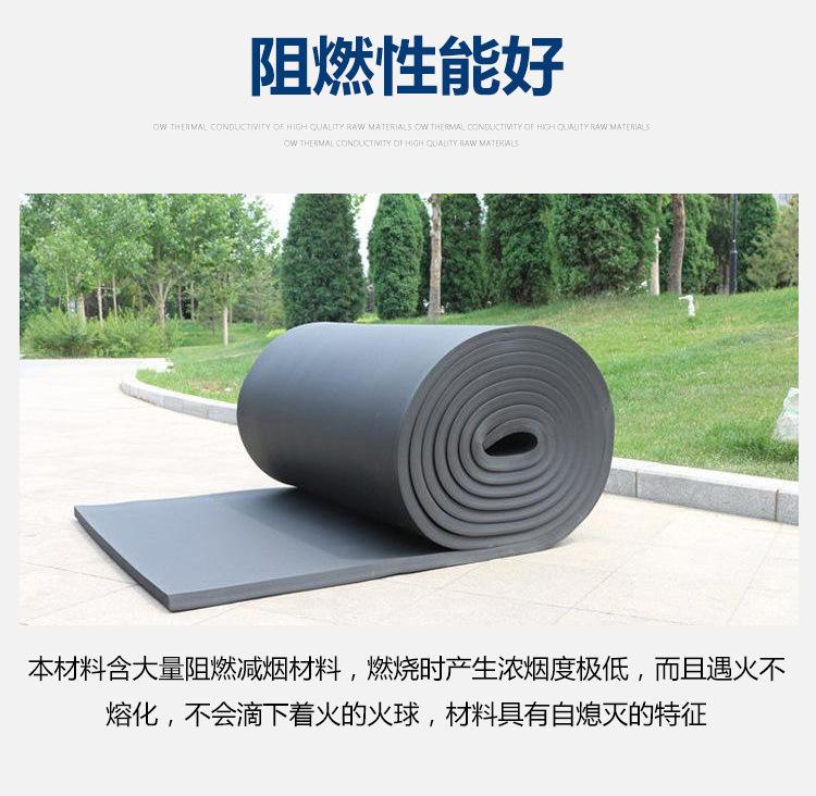¥15.00元100平方米 橡塑厂家 0级橡塑板 隔音橡塑棉 B1级橡塑管 B1级橡塑板  廊坊 优达  河北示例图9