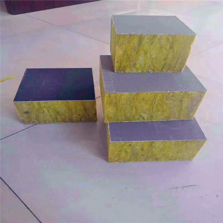 复合外墙岩棉板 保温岩棉板 憎水保温 高强度