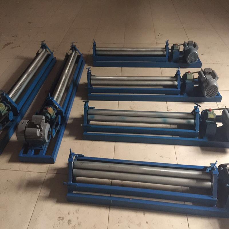 三軸卷板機可加工0.3-16mm厚全自動調節卷圓機電動彎管機訂做異型剪板機