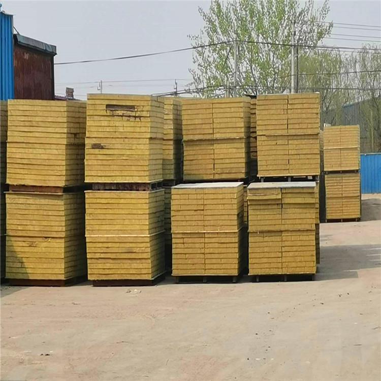 竖丝岩棉复合板 不燃岩棉复合板 外墙保温 质量保证